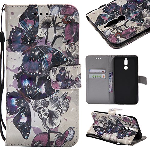 size 40 d919d 7afd2 Mate 10 Lite, Huawei Mate Lite Wallet Case, Wallet Case, Carols (5.9  Inches) PU Leather Case Flip Cover in Book Style Case Cover Stand Wallet  Card ...