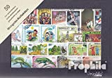 Mongolei 50 verschiedene Marken (Briefmarken für Sammler)