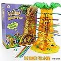 Funnyrunstore Parent Child Interaction Jeux de Bureau Basculer Les singes Tomber Les singes Enfants Jouets éducatifs à partir de 3 Ans (Multicolore)