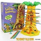 Funnyrunstore Eltern-Kind-Interaktion Desktop-Spiele Trinkgeld Affen Fallende Affen Kinder Lernspielzeug 3 Jahre und älter (Mehrfarbig)