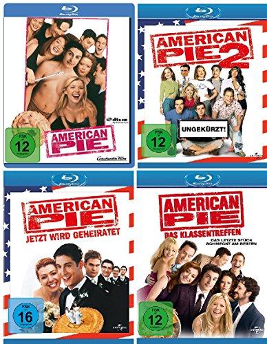 American Pie 1,2,3+8 im Set - Deutsche Originalware [4 Blu-rays]