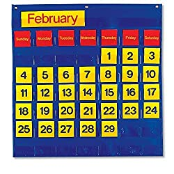 Eta Hand2mind Monthly Calendar Pocket Chart By Eta Hand2mind