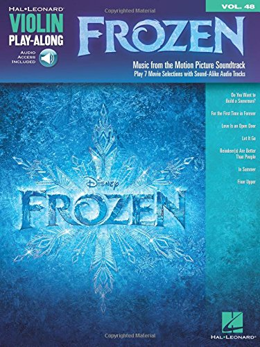 Frozen violon+enregistrements online (Violin Play Along)