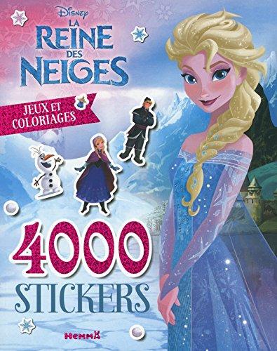 Disney La Reine des Neiges - 4000 stickers - Jeux et coloriages