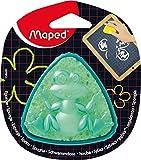 Maped M258600 - Tafelschwamm Sponge Box, dreieckige Form, grün/gelb