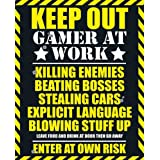Empire 173461 Gaming - Keep Out Mini Poster - 40 x 50 cm