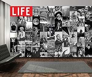 Creative lIFE collage magazine icônes papier peint 64 pièces-wTD wallpaper. sont fournies une colle et boîte une klebeanleitung.
