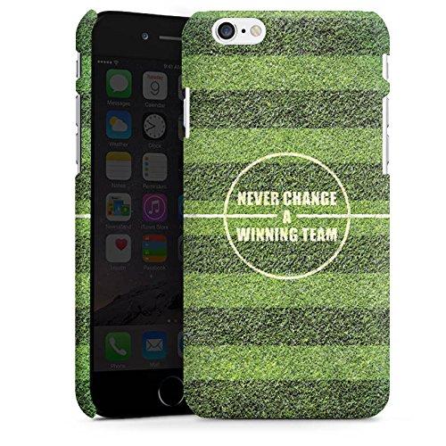 Apple iPhone 4 Silikon Hülle Case Schutzhülle fussball fußball spruch Premium Case matt