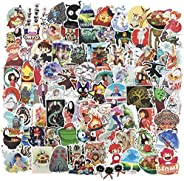 Cute Anime Stickers for Water Bottle, Vinyl Skateboard Laptop Computer Travel Case Car Phone Notebook Luggage