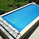 Copertura isotermica per piscina 6 x 12 mt multiball