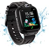 Vannico Smartwatch Kinder Wasserdicht IP68, Kinder Intelligente Uhr mit LBS SOS Kids Smart Watches Phone Touchscreen Spiel An