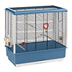Ferplast Piano 4 Canary and Small Exotic Bird Cage, Blue 3