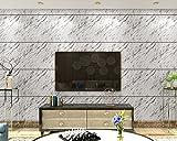 YUANLINGWEI Gestreifte Tapete 3D Solid Marmor Tapeten Tapete für Wohnzimmer Tv Hintergrund Mauer B