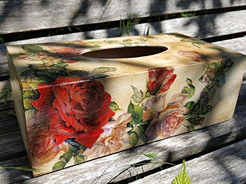 holz-tissue-box-cover-kleenex-box-tissue-box-tissue-spender-box-halter-servietten-vintage-rote-rosen