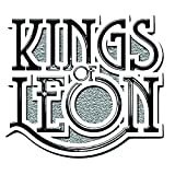 'Kings Of Leon Scroll Logo Nue Official Metal Pin Badge