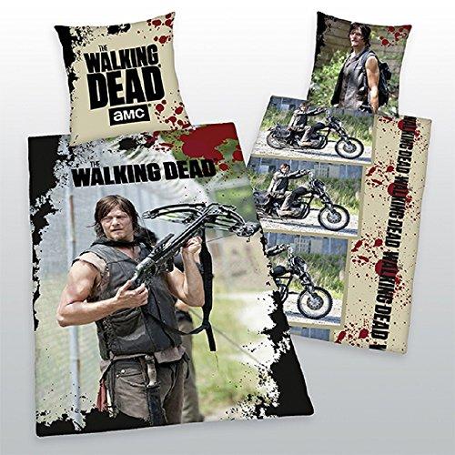 The Walking Dead Daryl modello biker Exklusiv solo qui, copripiumino 135x 200cm nuovo-Fan Seller