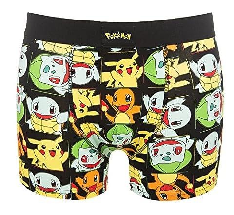 Mens Pokemon Pikachu And Friends Boxer Shorts