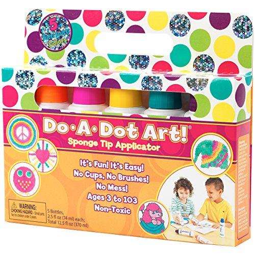 do-a-dot Art Schwamm Spitze Applikatoren Set, Mehrfarbig, 3,68x 21,59x 18.41cm (Schimmer Tutu)