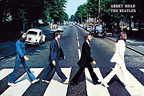 GB eye Beatles Abbey Road Poster, 36 x 24