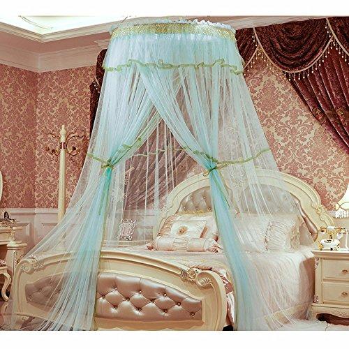 DexterityKing mosquito net Verschlüsselte Moskitonetze 1 meter Kuppel hängenden Netzen Palace installation Decke, grün