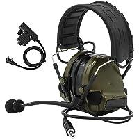 TAC-Sky Comta c iii Elektronisches taktisches Headset Hörgerät Defender Noise Reduction Sound Pickup