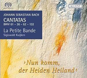Johann Sebastian Bach: Kantaten BWV 36 / 61 / 62 / 132 (Kantaten für das Kirchenjahr Vol. 9)