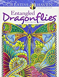 Creative Haven Entangled Dragonflies Coloring Book (Creative Haven Coloring Books)