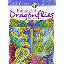 Entangled Dragonflies Coloring Book