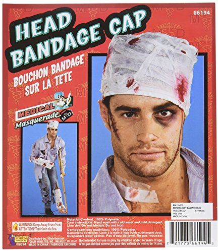 Bloody Head Bandage Cap