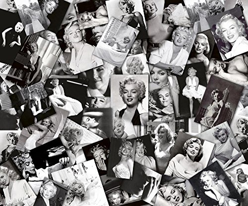 Stampa su tela Marilyn Collage