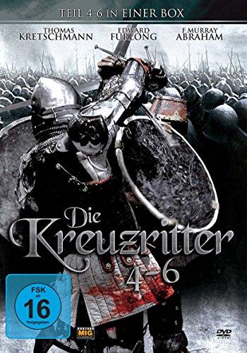 Bild von Die Kreuzritter - Box Set Teil 4-6 (Limited Edition, 2 DVDs)