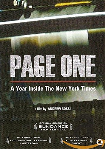Page One - A Year Inside The New York Times (1 DVD) (New Times-dvd York)