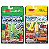 Best Melissa And Doug Toys - Melissa and Doug Water Wow Bundle - Vehicles Review