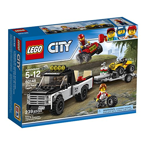 LEGO City Great Vehicles ATV Race Team 60148 Building Kit  available at amazon for Rs.5342