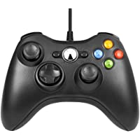 Manette Xbox 360 - Manette Xbox PC Joystick pour Xbox 360 et Windows 7/8/10 Connection USB - Design Ergonomique - Double…