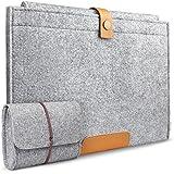 [13,3 pouces]Inateck housse en feutre de laine pour Macbook 13,3 pouces Housse pour Apple Macbook pro retina 13, Chromebook hp