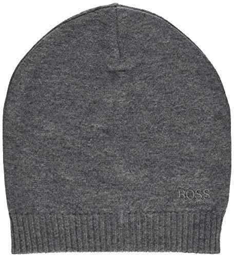 BOSS Athleisure Herren Beanie-Basic Strickmütze, per Pack Grau (Medium Grey 031), One Size (Herstellergröße: STCK)
