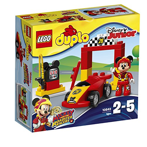 LEGO Duplo Disney Mickey Racer Building Blocks for Kids 2 to 5 Years (15 Pcs)10843
