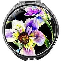 Pillendose/rund/Modell Leony/Natur - Blumen/BLUMEN preisvergleich bei billige-tabletten.eu
