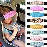 Gzqes Kopfstütze für Baby-Autositz, Kindersicherheit im Auto, verstellbare Schlafstütze für Kindersitz, Farbe zufällig