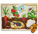 Unbekannt Steckpuzzle mit Griffen - Gemüse