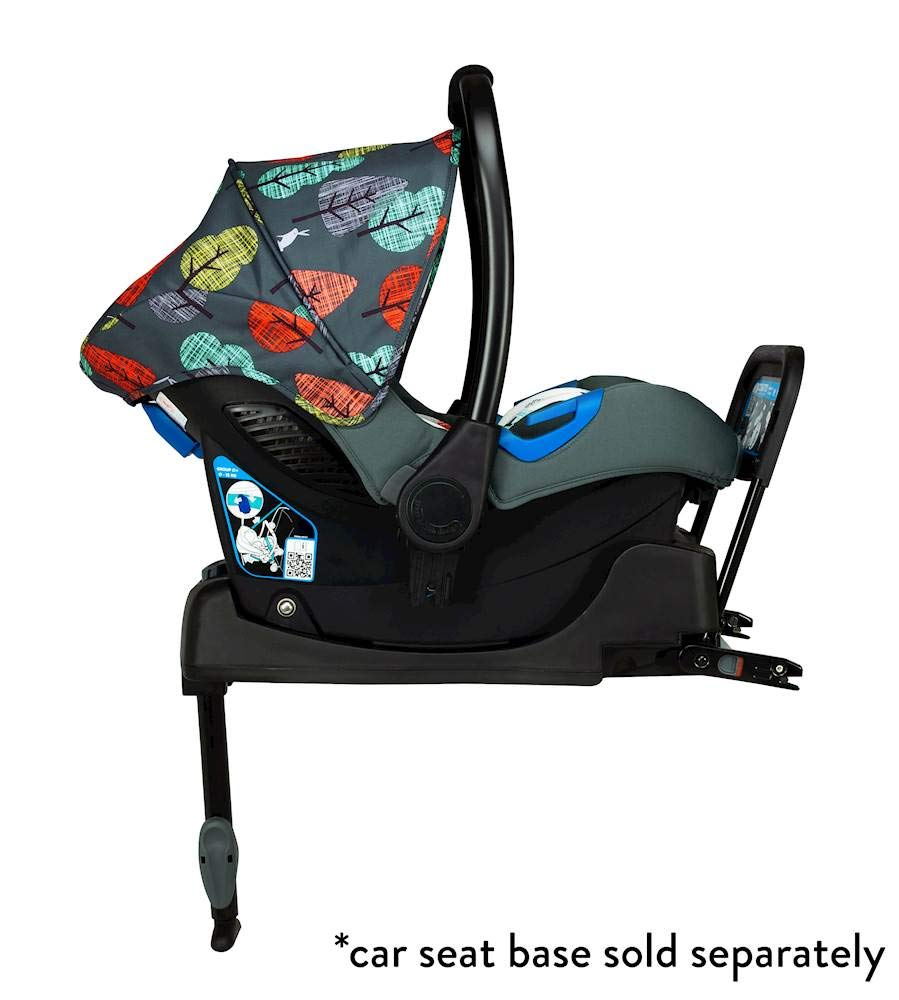 Cosatto Port Carseat (Giggle 3/4) Hare Wood Cosatto From birth to 13kg.(12-15 months approx). rear facer, fits with standard in-car seat belt The deep comfortable shell and side impact protection bring extra in-car security Snug accessories are included. the pop-off washable fabric covers keep port pristine 2