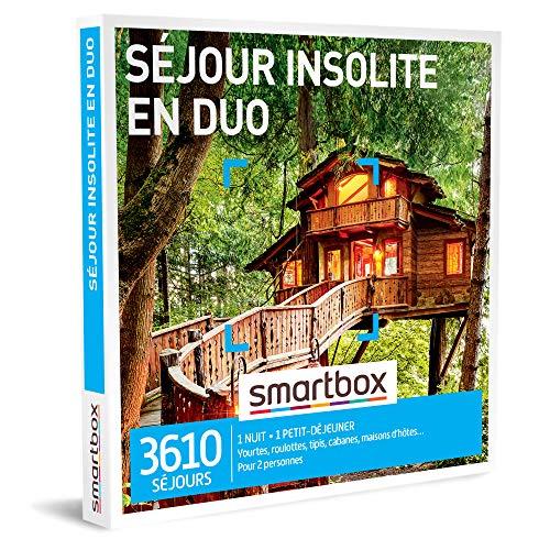 SMARTBOX - Coffret Cadeau homme femme couple - Séjour insolite en duo - idée cadeau...