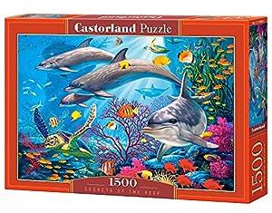 Castorland Secrets of The Reef 1500 pcs Puzzle - Rompecabezas (Puzzle Rompecabezas, Submarino, Niños y Adultos, Niño/niña, 9 año(s), Interior)