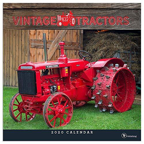 Calendario 2020 Tractor Pulling.2020 Vintage Tractors Wall Calendar
