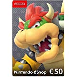 Nintendo eShop Carta regalo 50 EUR - Codice download