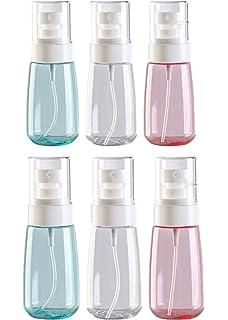 Flacon Vaporisateur Vide 60ml Bouteille de Voyage Spray Vide Plastique R/éutilisable Transparent Bouteilles de Pulv/érisation