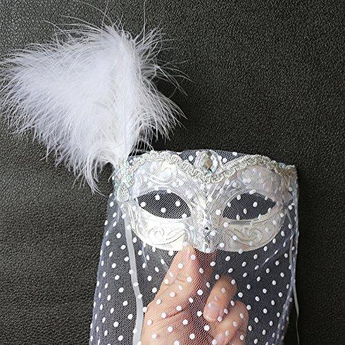 Damjic Nach Party Kostüm Party Prinzessin Maske Spitze Party Maske Ein