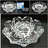 Supermall New Imported Glass Crystal Tortoise In Plate 4x4 Inch Fang Shui Vastu Set - Best Gift For Career And Luck Best Quality-PM05