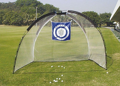 Legend Cage Net Golf Training Aid  - Black/White/Blue